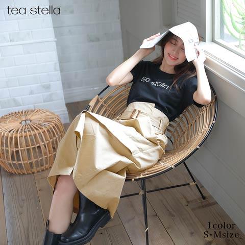 ラップトレンチスカート[tea stella]